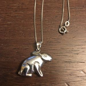 Jewelry - Sterling Silver Rabbit Necklace